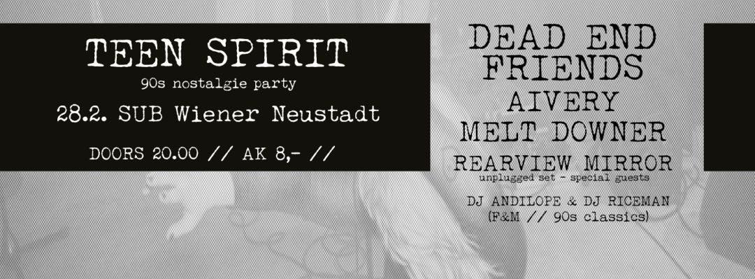Teen Spirit…die Party deiner Jugend #3 – 28.2.15