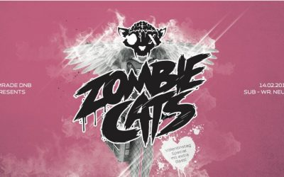Comrade DNB presents Zombie Cats – 14.2.15