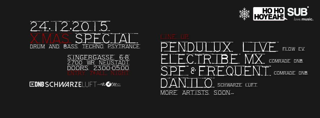 X-MAS SPECIAL with PENDULUX