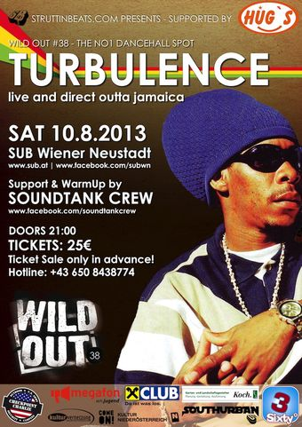 Struttinbeats-wiener-neustadt-WILD OUT 38 W/ TURBULENCE (Jamaica)