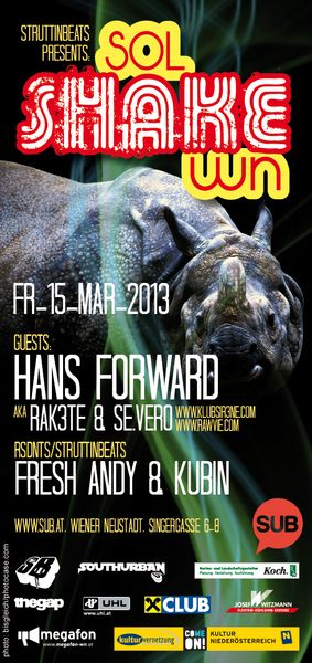 SOL SHAKE WN ft. HANS FORWARD – 15.3.13