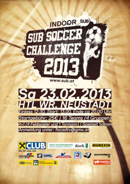 SUB Soccer Challenge 2013 – HTL Wiener Neustadt – 23.2.13