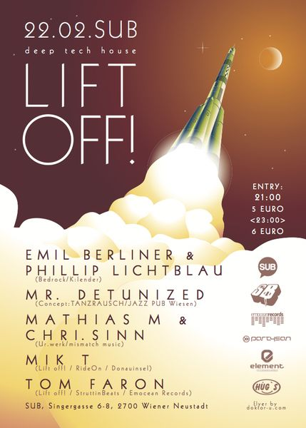 StruttinBeats presents: LIFT OFF #2 – 22.2.13