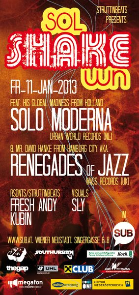 SOL SHAKE WN ft. Solo Moderna & Renegades of Jazz – 11.1.13