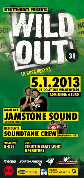 Wild Out #31 – LA COSA NOSTRA w/ Jamstone Sound – 5.1.13