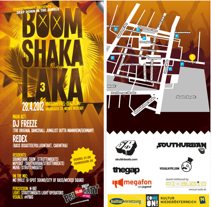 Boom Shaka Laka #3 – UVZ – 28.4.12