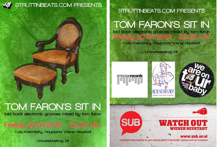 Struttinbeats-wiener-neustadt-Tom Faron's Sit In - Kolschitzky