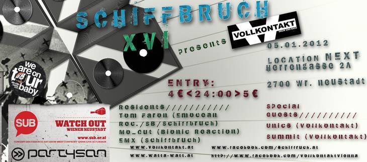 Schiffbruch XVI – Next Bar – 5.1.12