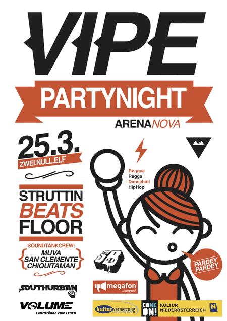 StruttinBeats auf der VIPE – Arena Nova – 25.3.11