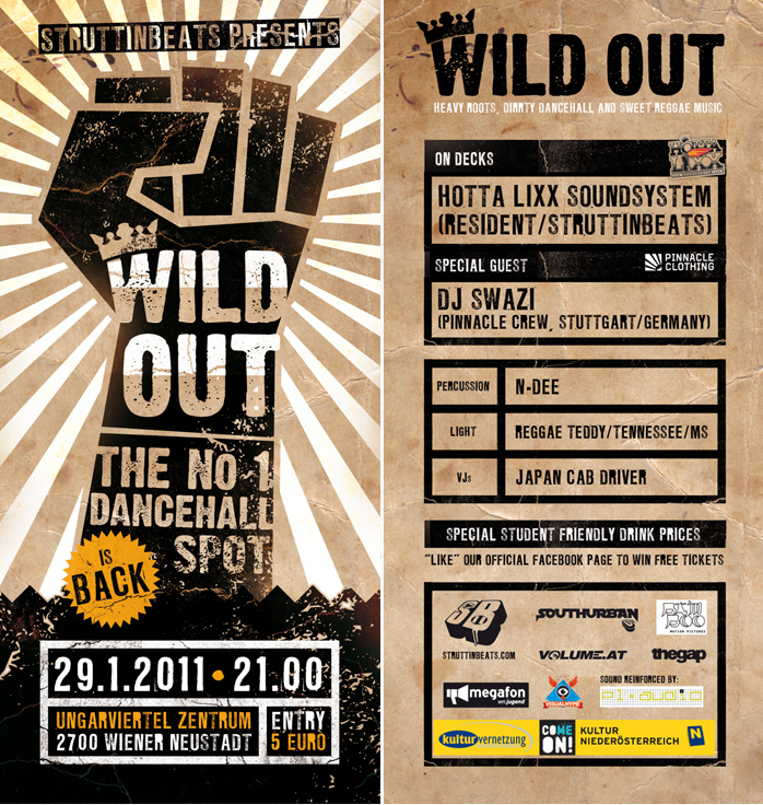 WILD OUT at UVZ – 29.1.11
