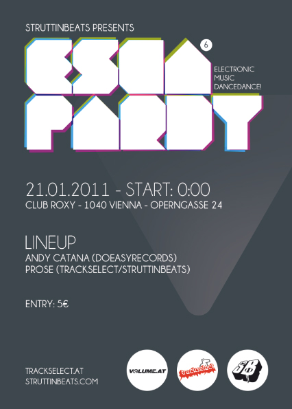 Escapardy 6 – Club Roxy – 21.1.11