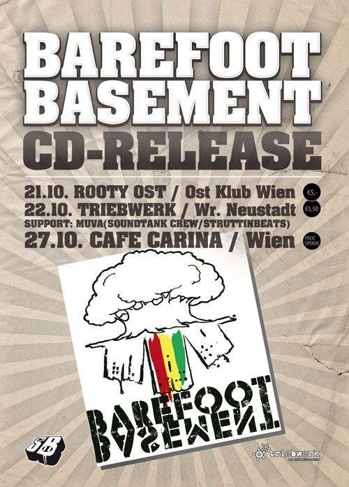 Struttinbeats-wiener-neustadt-Barefoot Basement CD Release