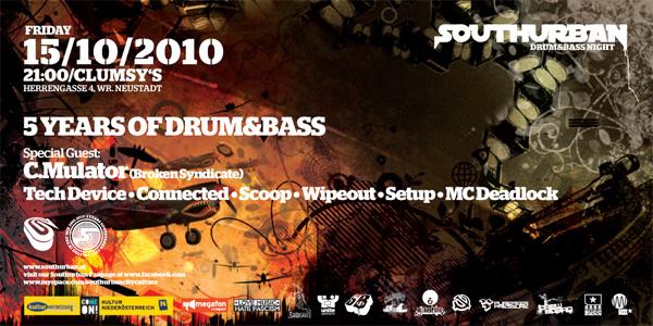 Struttinbeats-wiener-neustadt-5 Yrs of Drum n Bass - Southurb