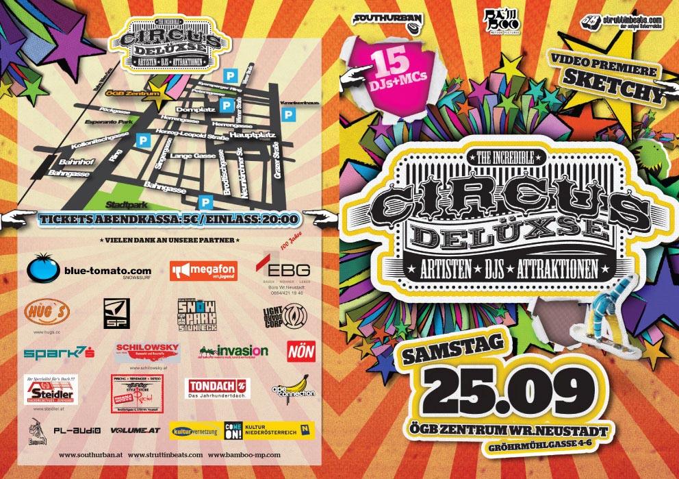 Circus Delüxse – ÖGB Saal – 25.09.10