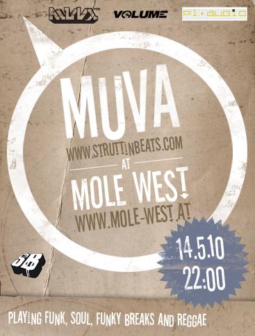 Struttinbeats-wiener-neustadt-MUVA @ Mole West