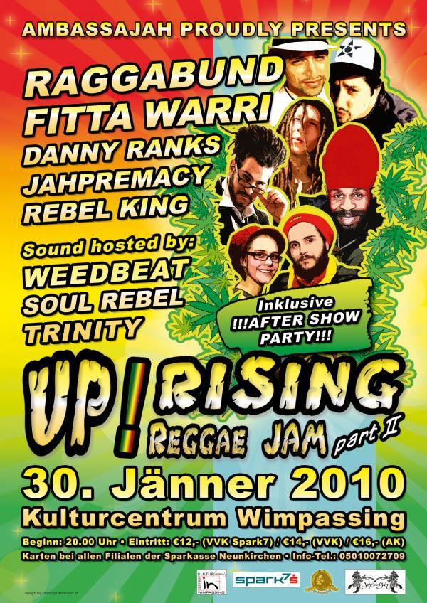 Uprising Reggae Jam 2010 – 30.1.10