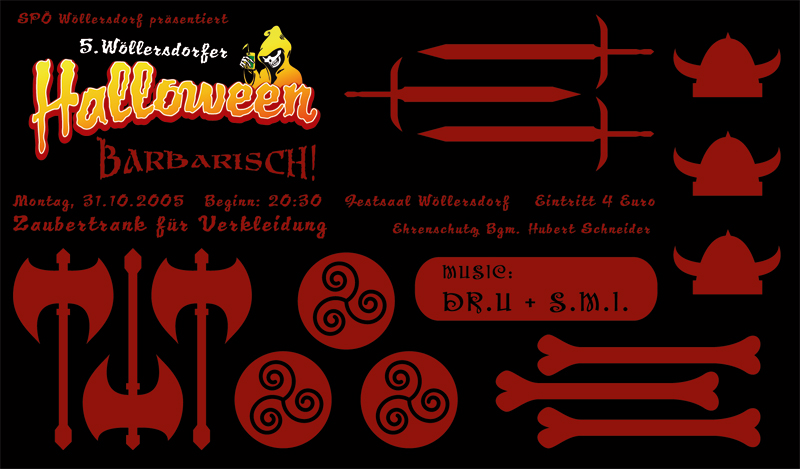 Halloween Wöllersdorf – 31.10.05