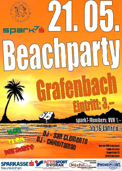 Beachparty Grafenbach – 21.5.08