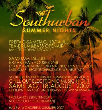 Struttinbeats-wiener-neustadt-Southurban Summer Nights