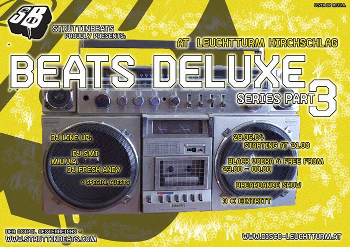 Beats DeLuxe 3, 28.5.04