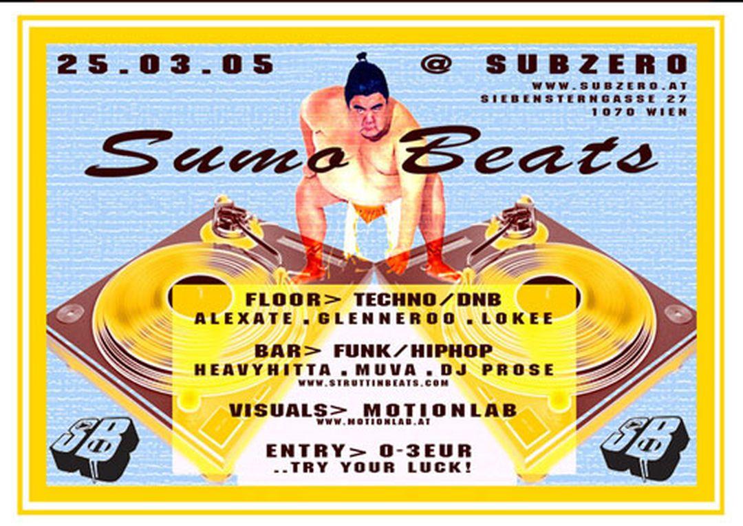 SUMO BEATS @ Sub Zero – 25.3.05