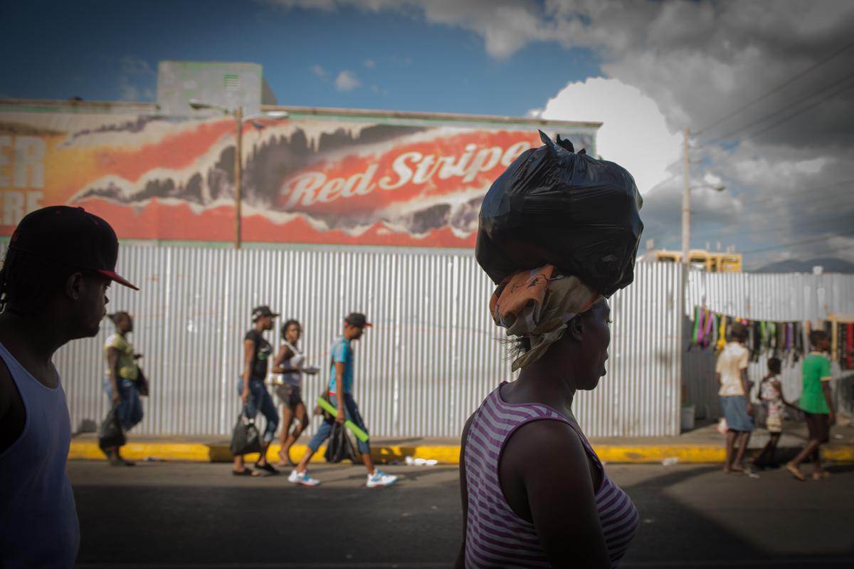 Ein Nachmittag in Downtown Kingston