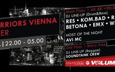 AUDIO RESISTANCE presents CITY WARRIORS VIENNA TAKEOVER – 21.2.15