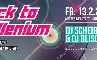 NOKAIN&KUTTEN präsentiert: Back to Millenium – 13.2.15