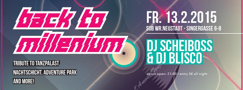 NOKAIN&KUTTEN präsentiert: Back to Millenium