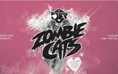 Comrade DNB presents Zombie Cats – 14.2.15