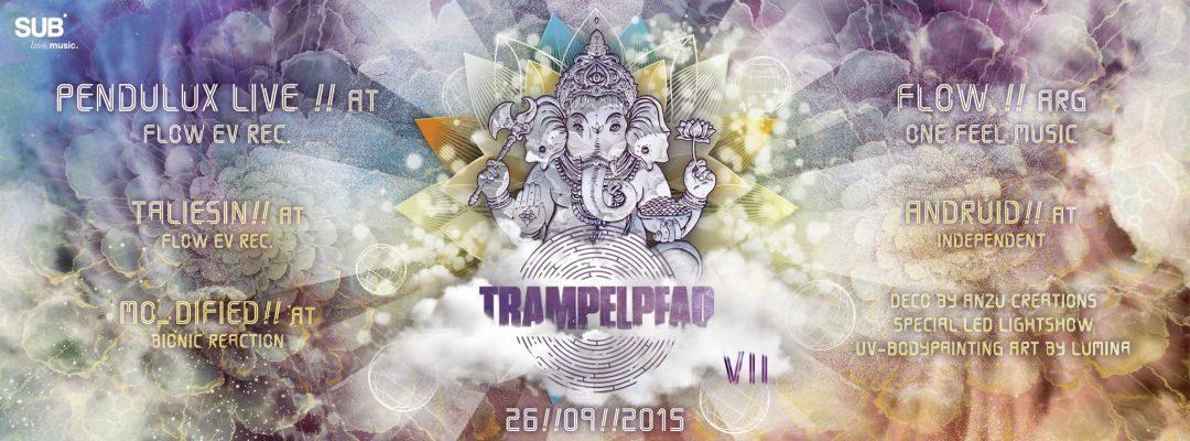 Trampelpfad VII: Led it be