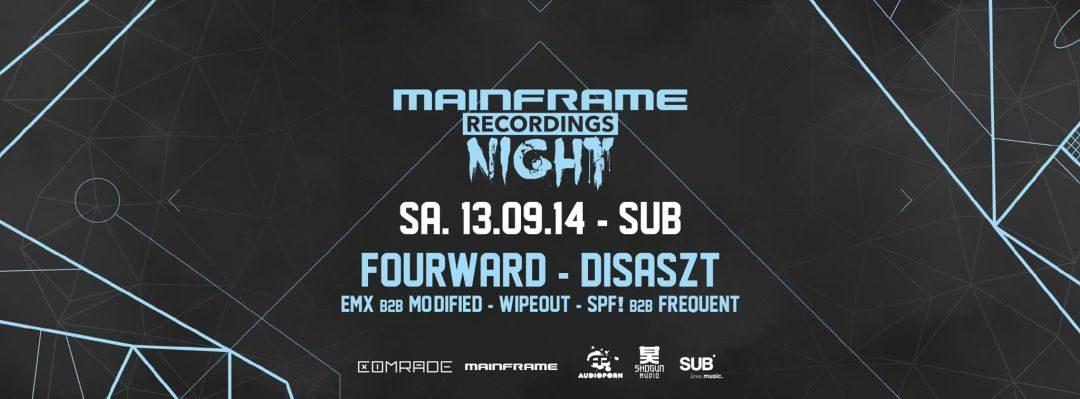 Comrade DnB presents Mainframe Recordings Night