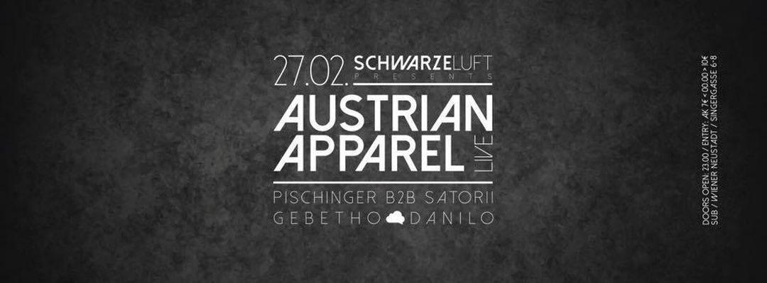 Schwarze Luft w/ Austrian Apparel (LIVE SET)