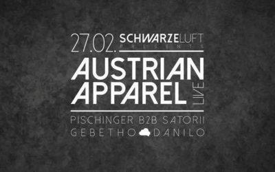 Schwarze Luft w/ Austrian Apparel (LIVE SET) – 27.2.16