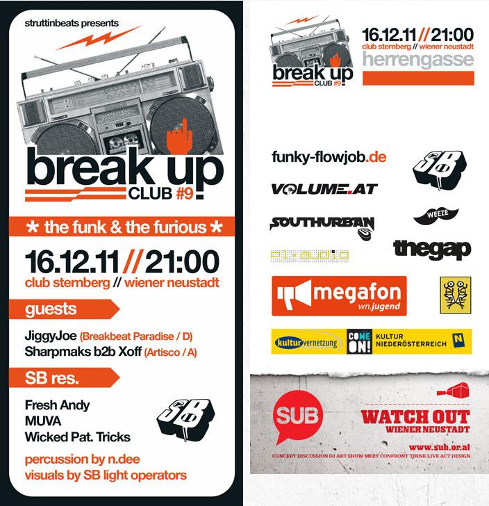Struttinbeats-wiener-neustadt-Break Up Club 9