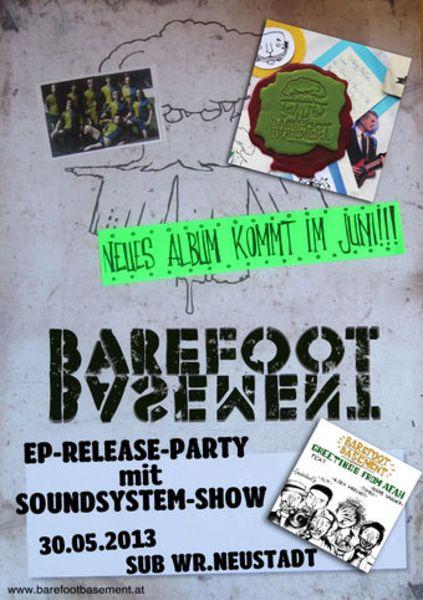 Struttinbeats-wiener-neustadt-Barefoot Basement EP