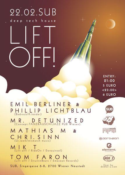 StruttinBeats presents: LIFT OFF #2 – 22.2.13