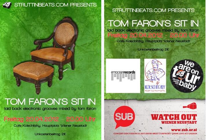 Tom Faron's Sit In – Kolschitzky – 20.4.12