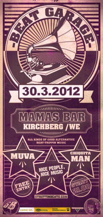 Beat Garage – Mama's Bar – 30.3.12