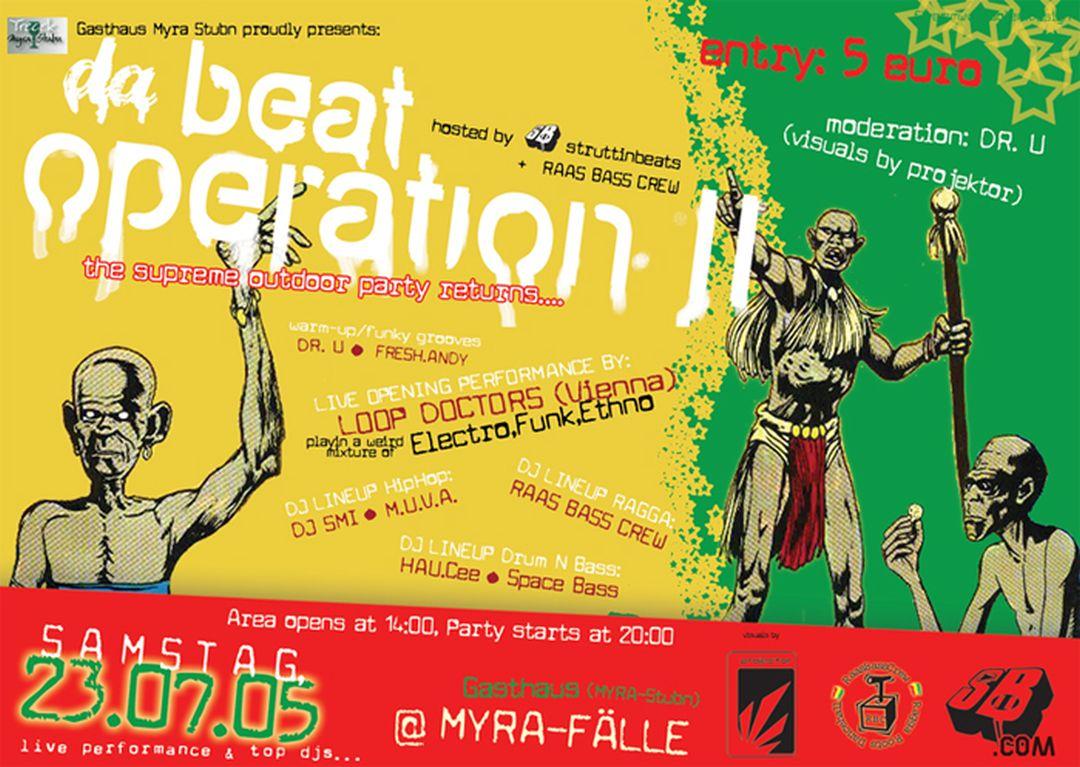 Beat Operation II 23.7.05