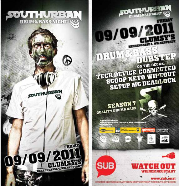 Struttinbeats-wiener-neustadt-Southurban Drum n Bass Night