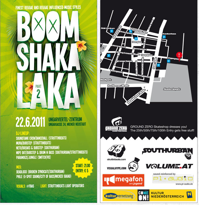 Struttinbeats-wiener-neustadt-Boom Shaka Laka