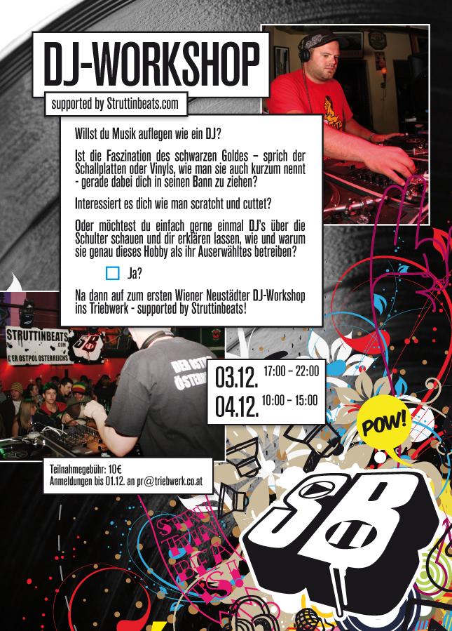 Struttinbeats-wiener-neustadt-DJ WORKSHOP