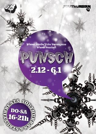 Southurban/StruttinBeats Punschstand - 2.12.10-5.1.11