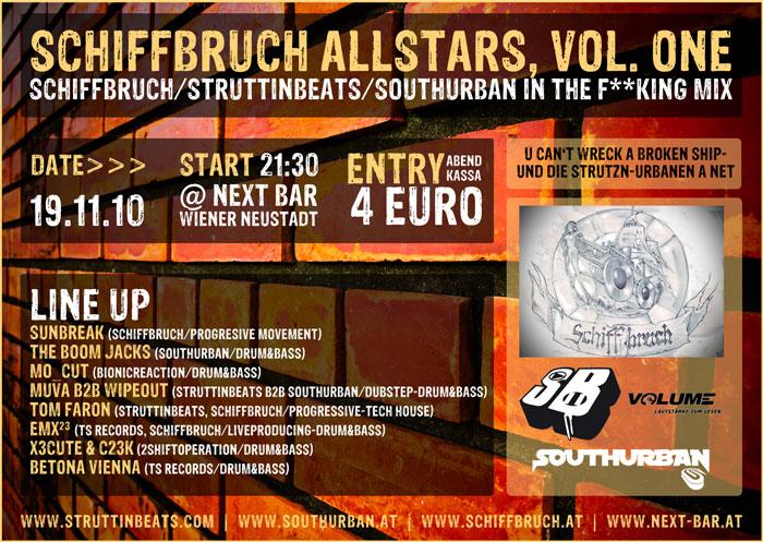 Struttinbeats-wiener-neustadt-Schiffbruch Allstars