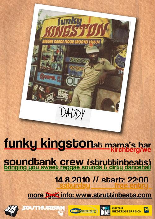Struttinbeats-wiener-neustadt-Funky Kingston