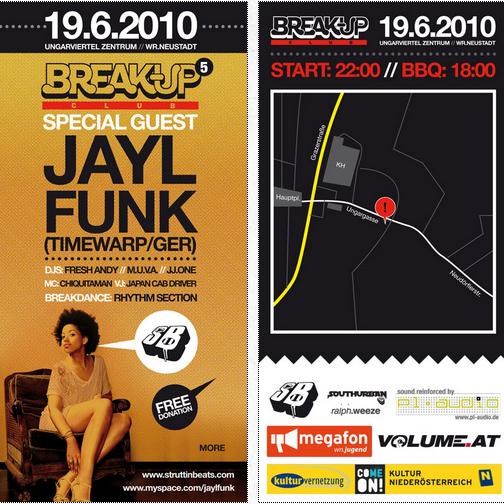 Struttinbeats-wiener-neustadt-Break Up Club feat. JAYL FUNK