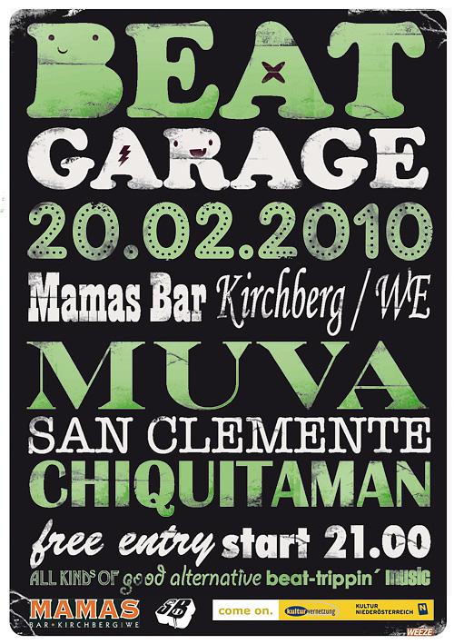Beat Garage @ Mamas Bar – 20.2.10