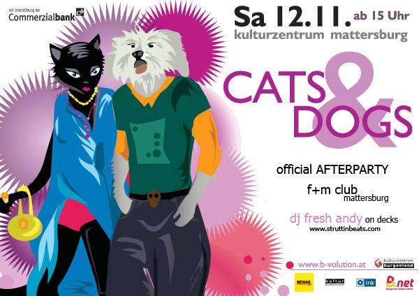 Struttinbeats-wiener-neustadt-Cats&Dogs Afterparty, F+M - 12.11.05