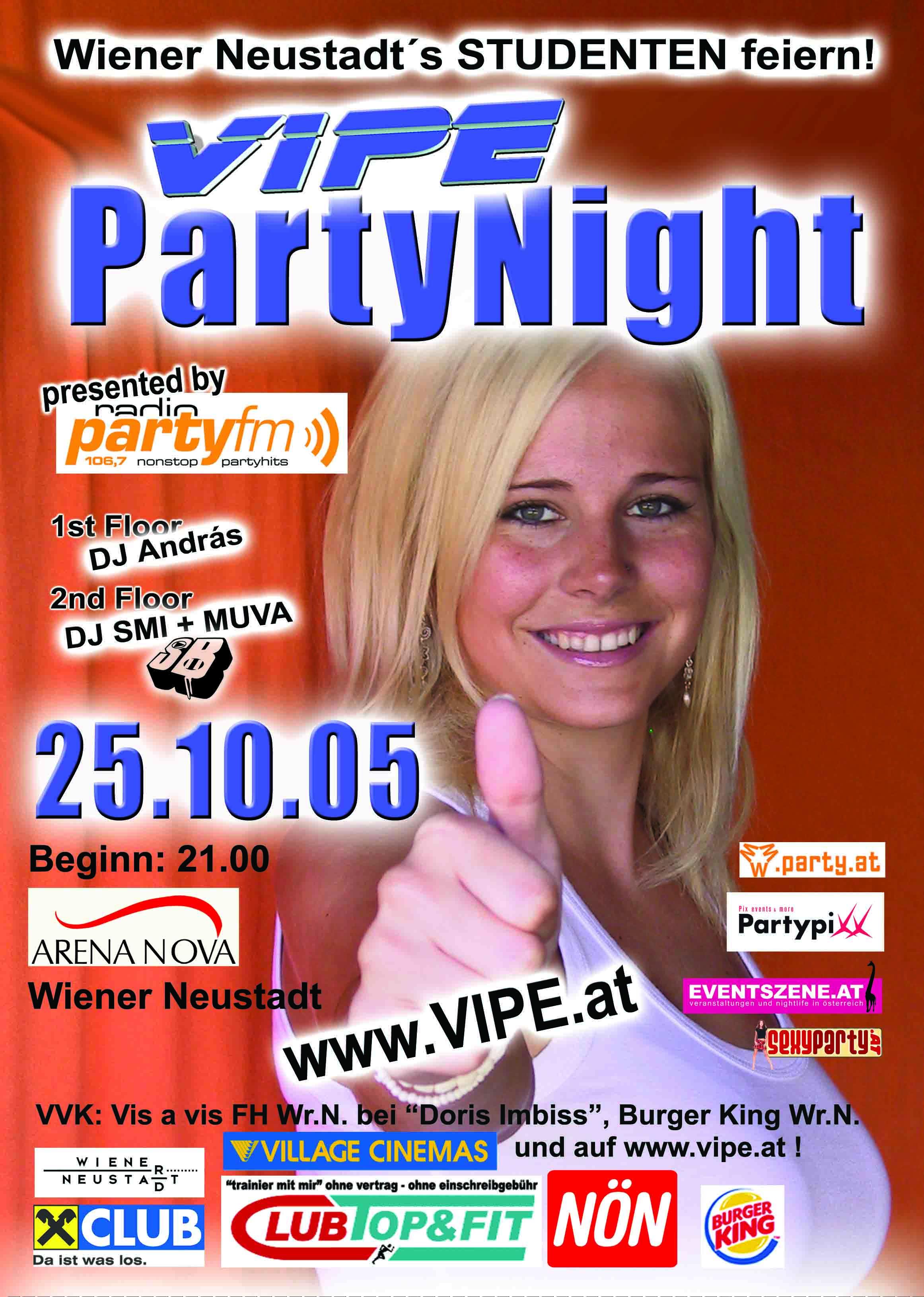 Struttinbeats-wiener-neustadt-VIPE Partynight - 2005 - Fotos